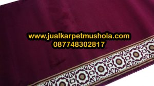 Jual karpet sajadah masjid roll di cawang jakarta