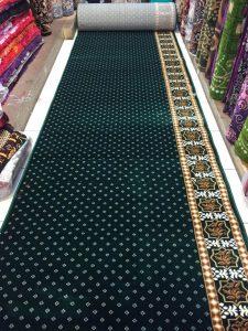 Jual karpet masjid Turki roll di Bekasi Selatan