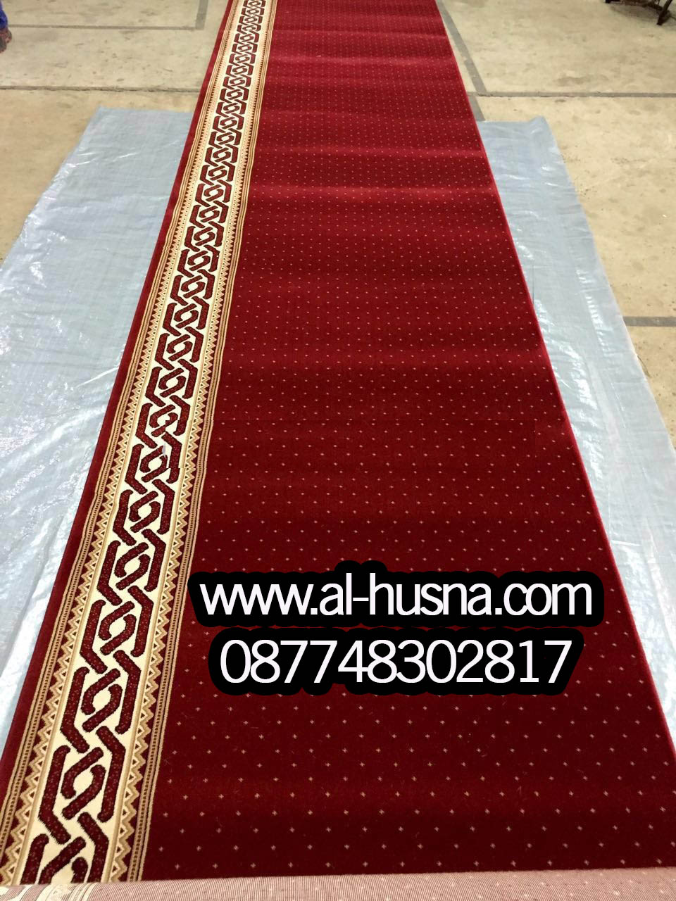 Jual karpet sajadah masjid per roll di pulo gadung jakarta